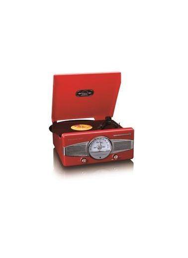 Lenco Classic Phono TT-27 RD Dahili Hoparlörlü Retro Pikap Plak Çalar (Kırmızı) Kırmızı